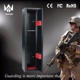 Metallgewehr-sicherer Kasten mit Digital-Verschluss für Büro und Hauptgewehr-Schrank mit entfernbarem Regal und Sicherheitsschloß für Gewehre und Pistolen