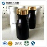 Frascos plásticos por atacado da bebida do tampão de frasco do leite do frasco do HDPE 150ml