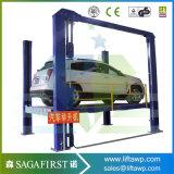 4 гаража автомобилей столба подъем столба подъемов 4 гидровлических двойных автоматических