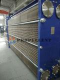 Libre circulación de la placa de gran distancia del intercambiador de calor para la pasta de papel