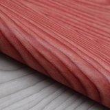Cuero frustrado del bolso de la esponja del PVC de árbol del grano natural de imitación de la corteza