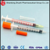Markierungs-U-40 farbige Insulin-Spritze der Schuppen-1ml
