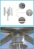 Generador de viento vertical de la turbina de viento de la CA del uso casero 600W 12V 24V