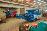 移動式木製の粉砕機のディーゼル機関の切り株のシュレッダーの木製の砕木機