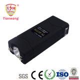 Increíble en miniatura de pistolas eléctricas con choque con la linterna (TW-801 carga USB)
