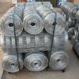 Загородка сетки скотин стального провода главного качества низкоуглеродистая
