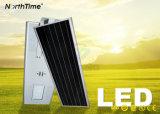IP65는 Bluetooth 지능적인 통제 한세트 LED 태양 가로등을 방수 처리한다