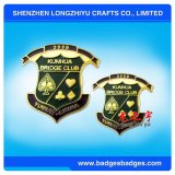 Custom High Quanlity Metal + Crystal Badge