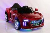 Carro elétrico do brinquedo de dois miúdos de controle remoto da bateria