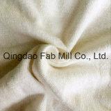 Tecido de cânhamo / algodão orgânico único (QF13-0346)