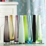Fiore di vetro della Tabella della decorazione fornire domestico del vaso di modo caldo di vendita che pianta mestiere di vetro
