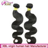 Волосы Virign фабрики волос Xbl перуанские естественные