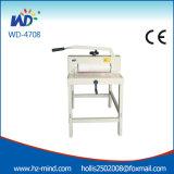 Machine de découpage de papier professionnelle du constructeur A3 (WD-4708) Gullotine de papier manuel