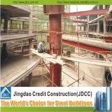 Prefabricated 가벼운 강철 구조물 상점가 건물
