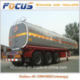 42000~45000litersオイルタンクのトレーラー、販売のための大きい容量の燃料のタンカーのトレーラー