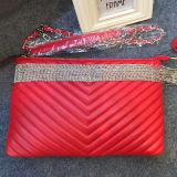Heiße Verkaufs-echtes Leder-Marke sackt Entwerfer-Handtasche Emg4561 ein