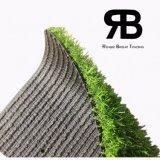 decoración artificial sintetizada de la hierba del paisaje Anti-ULTRAVIOLETA de 20-35m m para el jardín, hogar