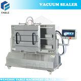 Geneigte vakuumverpackende Maschine mit doppeltem Raum (DZ-500 I)