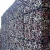 Conservazione della parete di Gabion, casella saldata di Gabion della rete metallica per la pietra