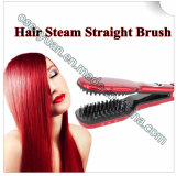 Delicate Heating Ceramic Hair Straightener Brush