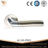 Ручка двери алюминиевой ручки пробки нутряная деревянная