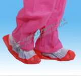 PP/PE/CPE/PP+PEの使い捨て可能なOvershoes、安全Overshoesの靴カバー製造業者