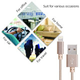 Nylon Braided USB кабеля молнии 8 Pin привязывает шнур заряжателя для iPhone