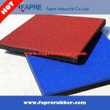 屋外のゴム製タイルに床を張るゴム製タイルかゴム製床タイル