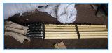 De houten Schop van het Handvat met Plastic Verpakking Bracked