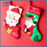 Medias de gran tamaño al por mayor de la Navidad para la decoración de la Navidad