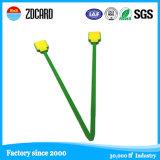 Tag impermeável verde do laço do ABS de RFID