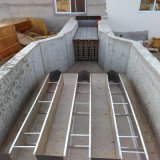 Het open Systeem van de Sterilisator van het Water van het Kanaal UV met Automatische Controle