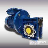 La combinación de la unidad de engranaje helicoidal exportador