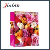 발렌타인 데이 장미 4c에 의하여 인쇄되는 선물 포장 선물 종이 봉지