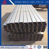 304 tubos de acero inoxidable 316L tubo rectangular para el pasamanos