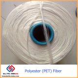 100% virgem topos de fibra de poliéster em bruto