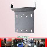 Kundenspezifische Querstreifen-Stab-Schemel-Blech-Herstellung mit Qualitäts-Laser-Ausschnitt mit Befestigungsteilen (Edelstahl)