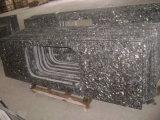 Dessus argentés de vanité de granit de perle pour la cuisine, salle de bains