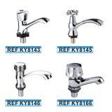 Robinet sanitaire de bassin de taraud de mélangeur de l'eau d'articles de zinc chaud de vente de l'Amérique du Sud (KY8123)