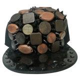 Las mejores gorras de béisbol del Snapback del diseño con el cuero artificial SD07
