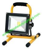 LED 10W recargable LED Floodlight luz de inundación LED