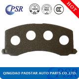 Plaquettes de frein de haute qualité de l'acier pour Volvo Pièces de la plaque arrière