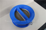 Válvula de verificação da bolacha para a água de mar com ISO Wras do Ce aprovado