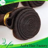 100% sin procesar cabello humano marrón virgen peruana tejido natural