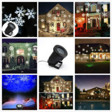 Projektions-Laserlicht der Schnee-Flocken-LED mit dem Firmenzeichen-Bild-Ändern (LP02)