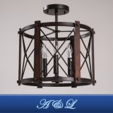 Industrielle Art-Leuchter-Decken-Lampe für Wohnzimmer-Esszimmer