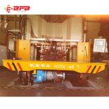 Reboque de transferência da bobina do uso 80t da indústria pesada com a pilhas