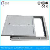 Fabricado na China SMC Material compósito de PRFV Square Tampa de Inspeção