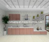 Strato rivestito del MDF dell'alto animale domestico di lucentezza di disegno moderno per il portello dell'armadio da cucina