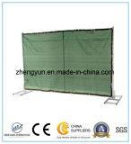 El panel temporal galvanizado retractable barato de la cerca de la conexión de cadena de la INMERSIÓN caliente para la venta